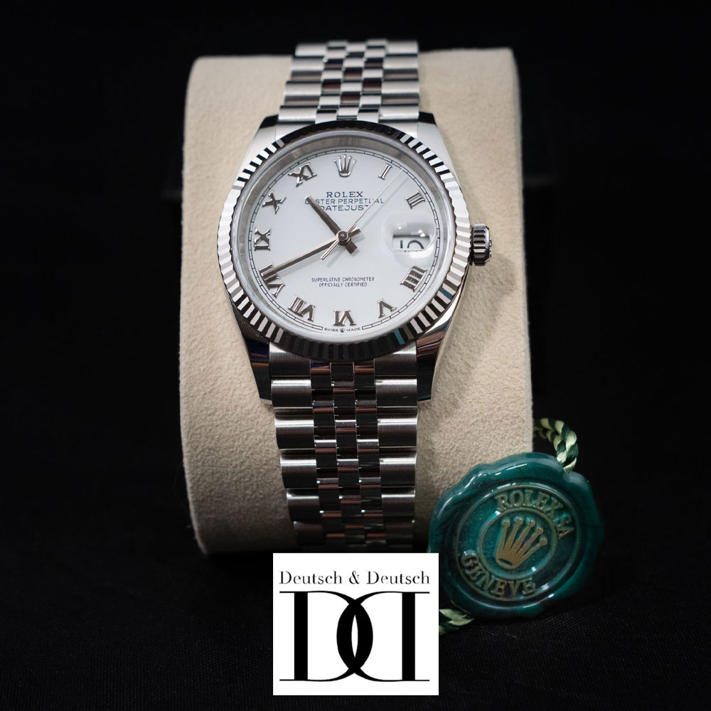 3. Rolex Datejust 36 Watch