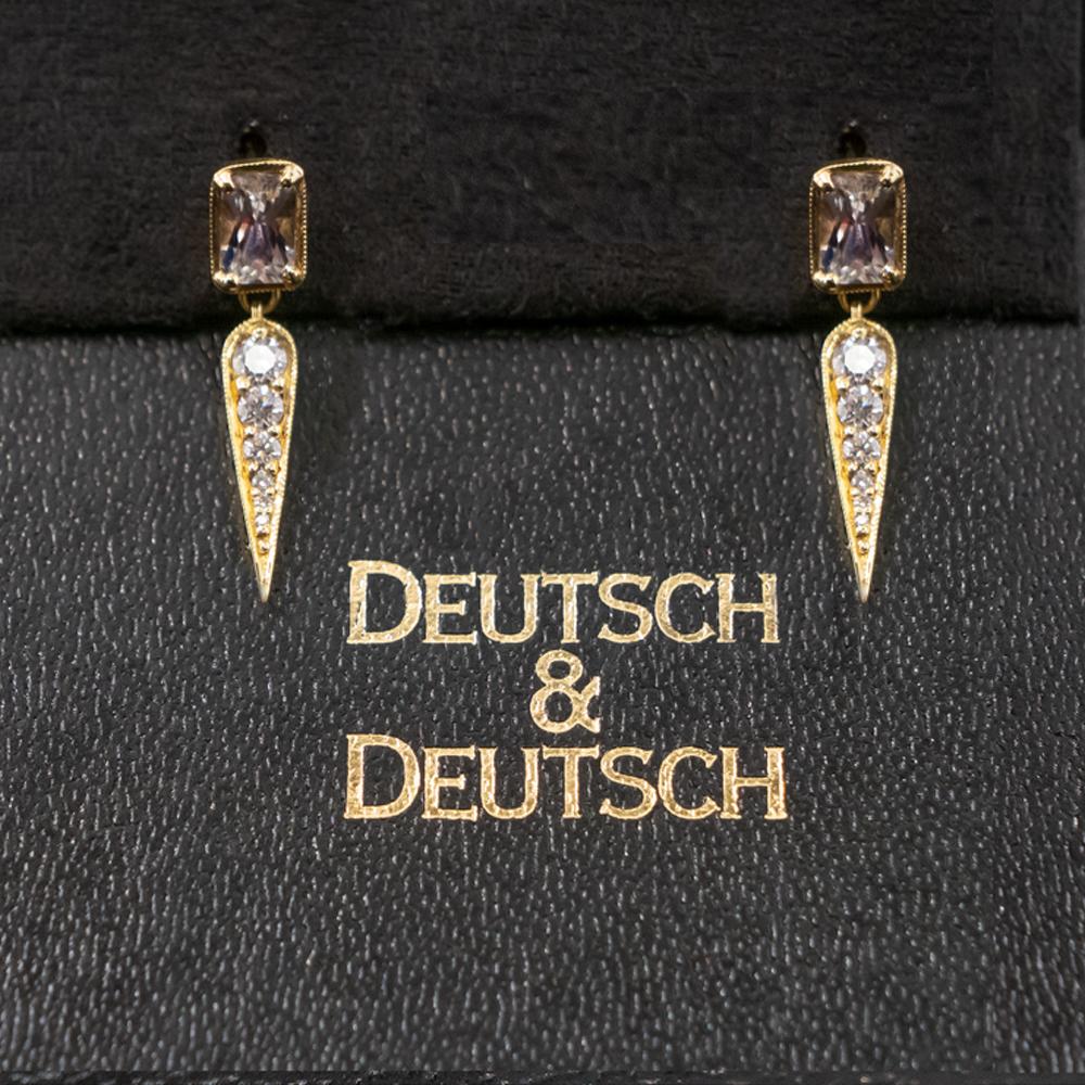9. Exquisite Diamond Earrings