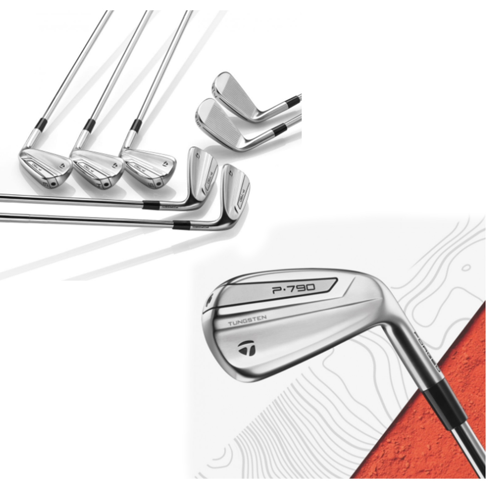 17.Set of TaylorMade P790 Golf Clubs with Bag and $200 Academy Gift Card