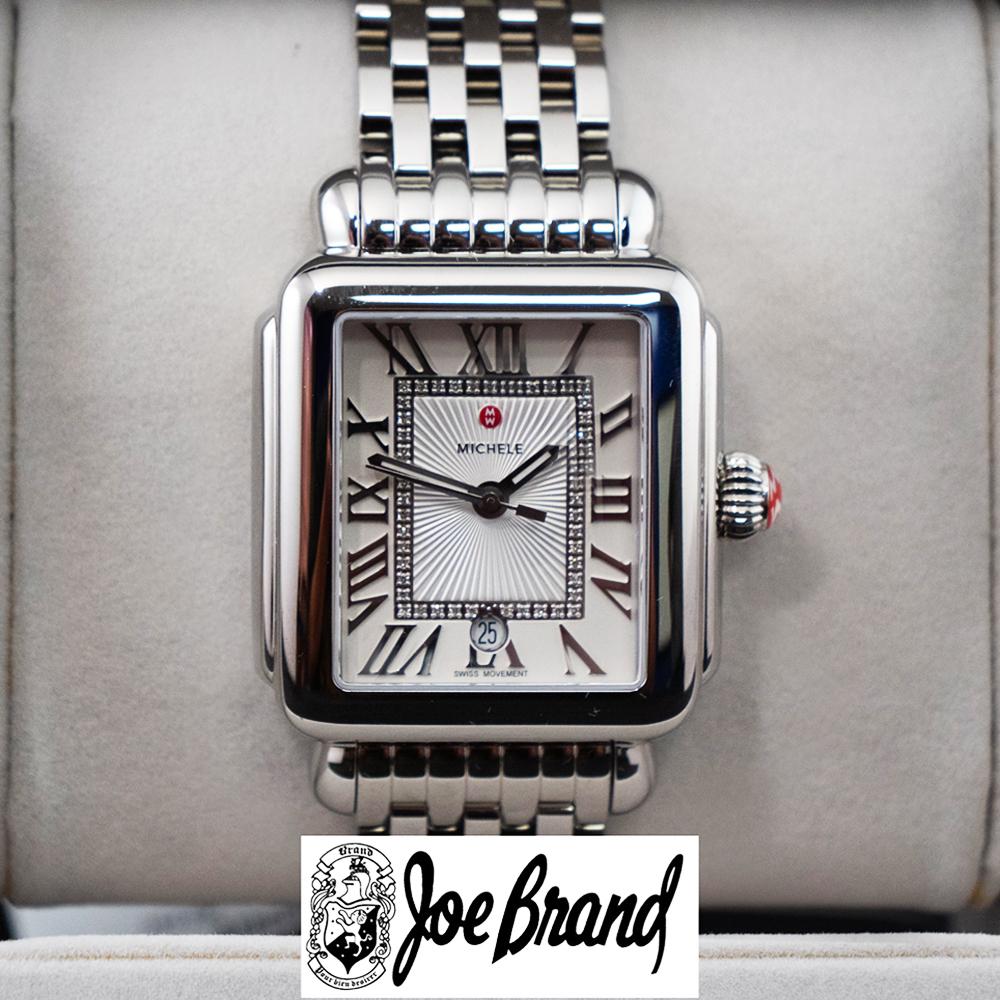 19. Michele Ladies Diamond Watch